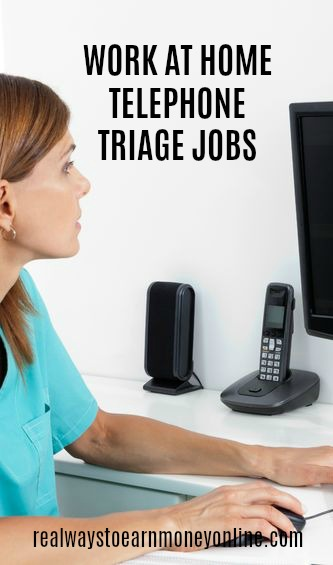 Looking to do work at home telephone triage as a nurse? Here's a list of seven companies that occasionally have these openings available.