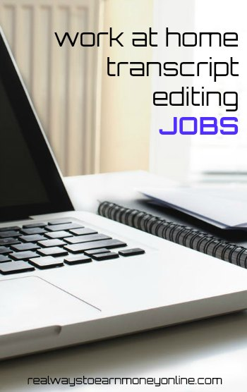 Work at home transcript editing jobs with 3Play Media. Earn up to $25 hourly working on your own time.