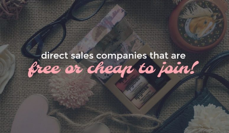 5 Direct Sales Opps To Start For Under $50