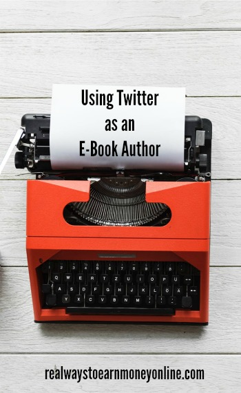 How to use Twitter as an e-book author.