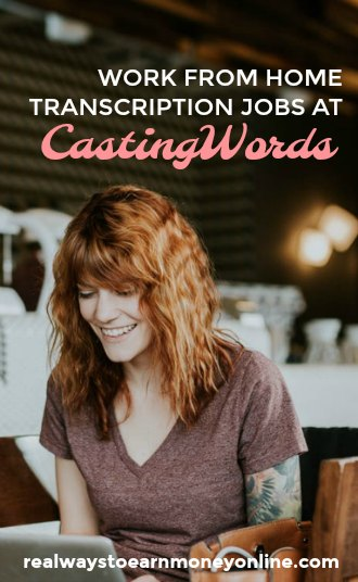 Work at home transcription jobs at CastingWords, a company that accepts beginners.