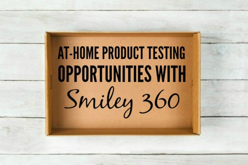 Smiley360 Sends You FREE Products To Try At Home!