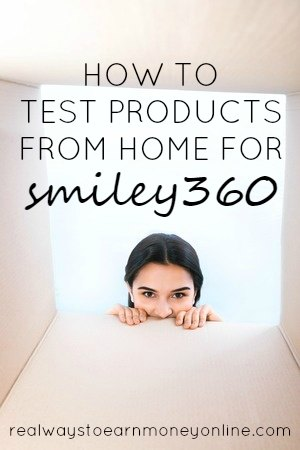 How to test products from home for Smiley360 - get free stuff!