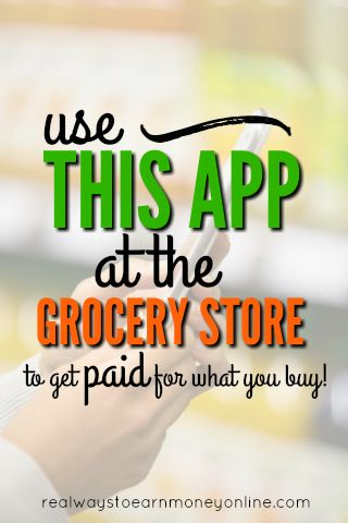 Checkout 51 will send you an actual check in the mail for buying certain groceries. Work at any store and is available on Apple and iPhone to people in the US and Canada.