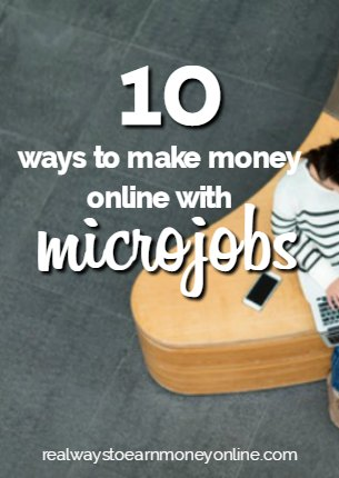Here's a list of 10 different ways you can earn money online using microjobs.