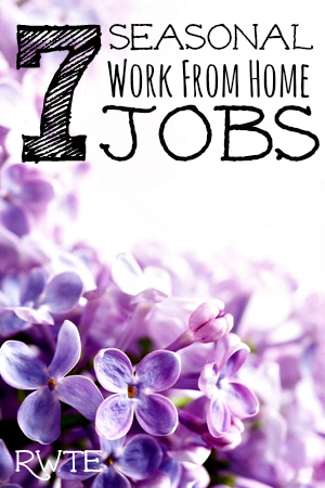 Here's a list of seven seasonal work from home jobs you can do. While most of these are just temporary work, the extra money will most certainly come in handy for you.