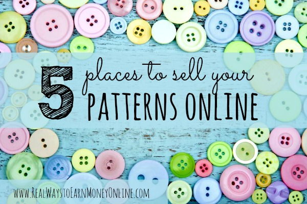 5 places to sell sewing patterns online for What can i make to sell online