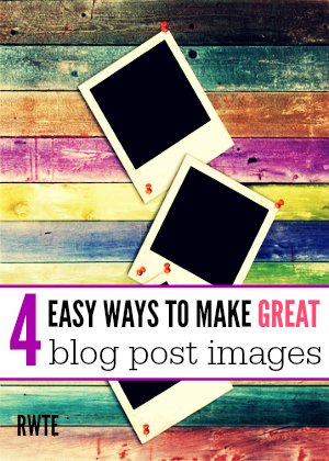Do you struggle with making eye-catching images for your blog posts? If so, you'll want to check out these four online tools anyone can use to get the images they want for their blog posts. Plus, they are either free or cheap!