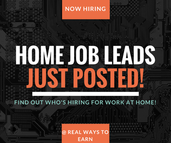 job leads work at home job leads see who's hiring today,Work From Home Graphic Design Jobs Canada