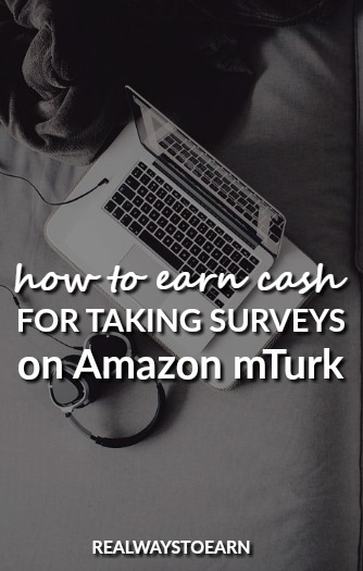 Want to get paid to take surveys on Amazon mTurk? It's an easy way to earn a little extra cash.