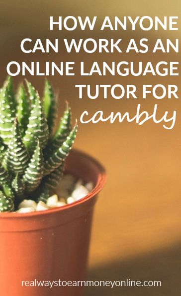 You can work at home as an online language tutor for Cambly. No special skills or training required. You just need to be fluent in your language.