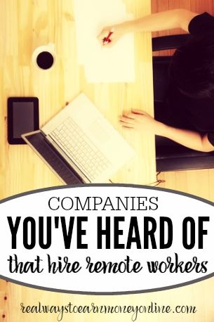 Here's a big list of 20 well-known companies that hire remote workers. Neiman-Marcus, U-Haul, and many more.