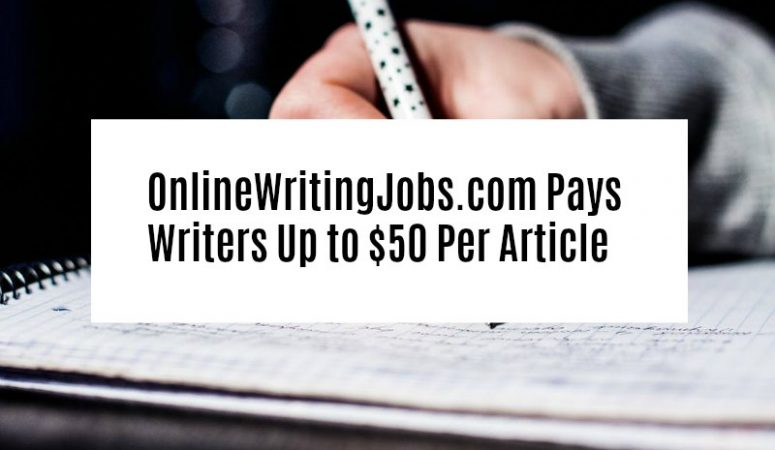 Make Money Writing For Online Writing Jobs