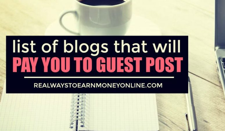 10 Sites That Pay For Guest Posts