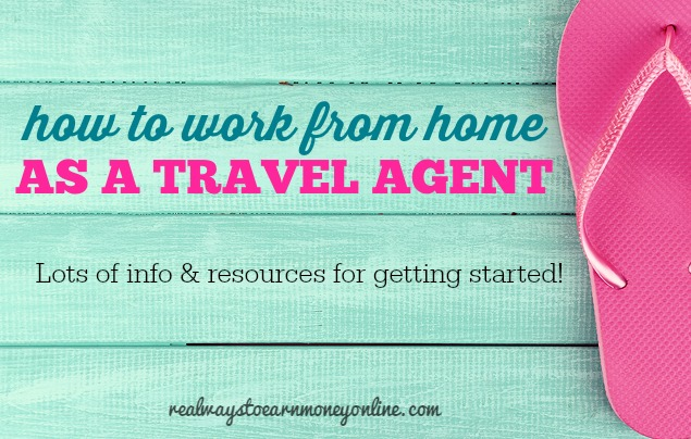 Travel agent opportunities at home