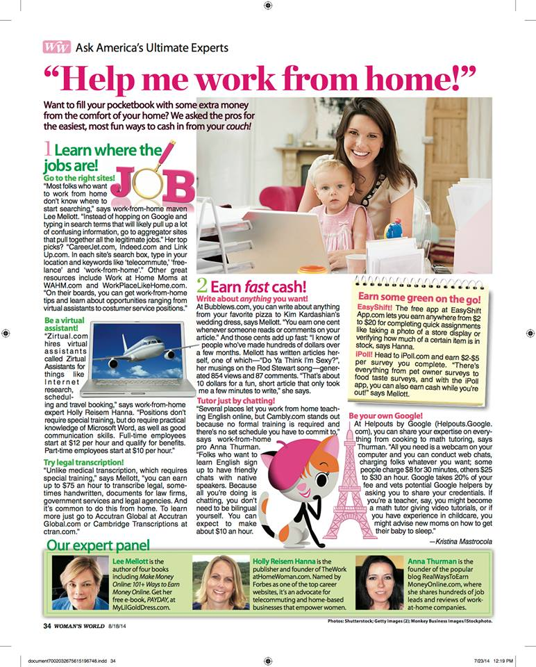 work from home essay Essay topic modern technology, such as personal computers and the internet have made it possible for many people to do their work from home instead of going to.