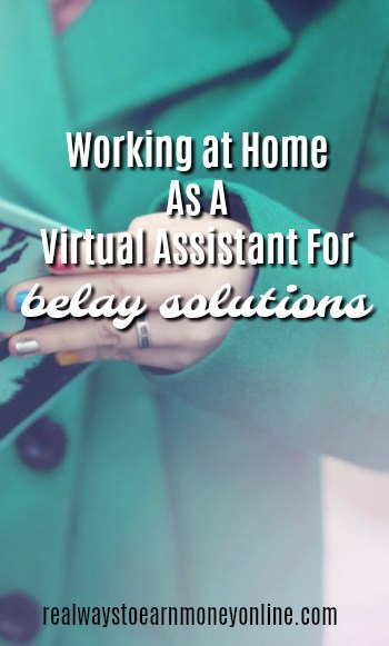 Work at home virtual assistant jobs at Belay Solutions.