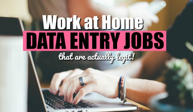Data Entry Jobs From Home – [11 Companies That Hire]