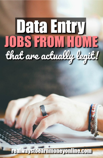 Find #workfromhome #dataentry jobs that are actually legit!