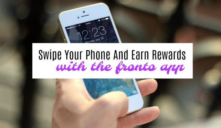 Swipe Your Phone & Earn Rewards With the Fronto App