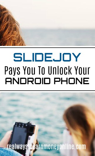 The Slidejoy app pays you to unlock your Android phone.