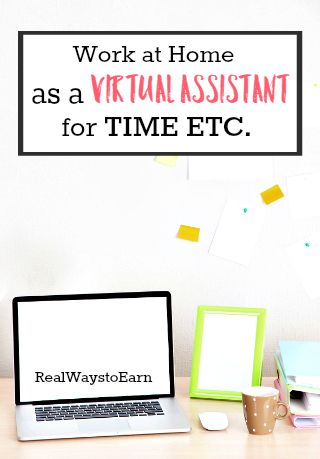 Time Etc. is a legitimate company that regularly hires work at home virtual assistants. They also offer a flexible schedule and a decent pay rate. This post has some more information on the position and how to apply for it.