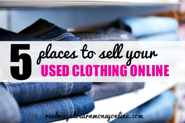 5 Places To Sell Your Used Clothes Online
