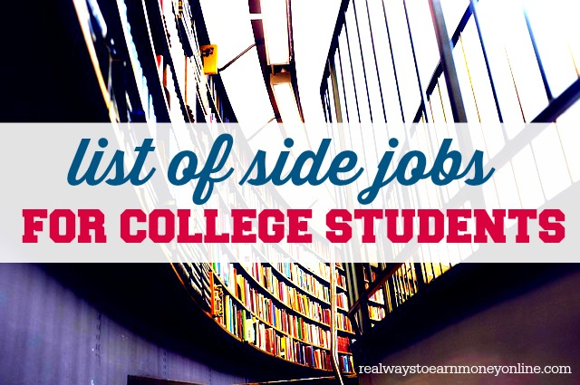 top 10 jobs for college students A list of 37 part-time jobs that are great for busy college students  10 host or  server at a restaurant this is the go-to job for those looking to earn fast cash.