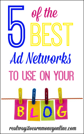 Do you want to make money with your blog? Ad networks are a perfect, passive way to do that, but your options can be a little overwhelming. Here are the five best ad networks for bloggers, based on my personal experience as a blogger for almost five years, and some research.