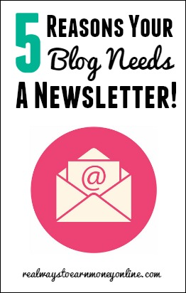 5 reasons your blog needs a newsletter.