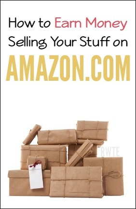 How to earn money selling your stuff on Amazon.com.