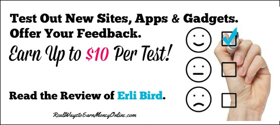 Erli Bird Pays You For Providing Feedback