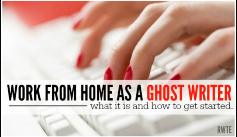 7 Ways to Find Ghostwriting Jobs From Home Today