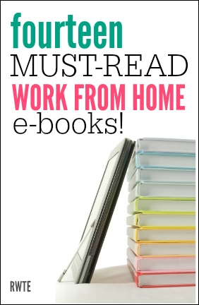 Sometimes an e-book is better than a website for finding the info you need! Here's a list of 14 of the best work from home ebooks you can get your hands on.