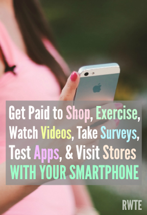 Breaking down the different types of smartphone apps that pay. Get paid to do everything from shopping to exercising with your smartphone.