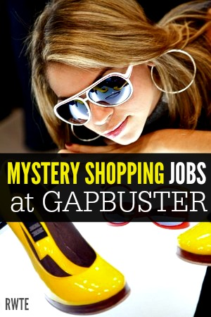 GAPbuster is one of many companies that hires mystery shoppers. They are completely legit and operate in several countries.