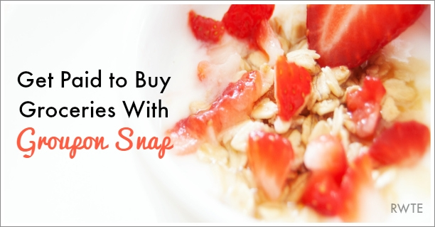 Groupon Snap Gives You Money For Buying Groceries