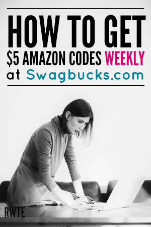 Are you interested in getting at least $5 a week from Amazon? If so, you should try using Swagbucks daily. This is one of the best, most reputable reward sites online that really does pay.
