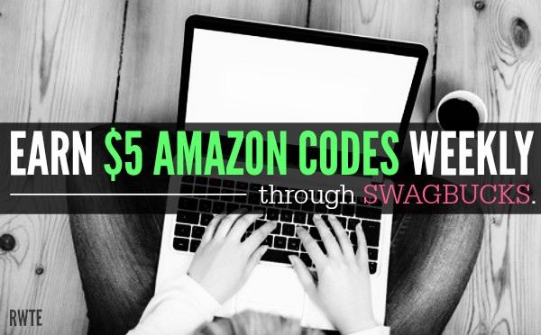 Get $5 Amazon Codes Every Week With Swagbucks