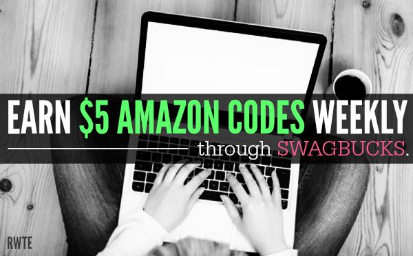 Get $5 Amazon Codes Every Week With Swagbucks