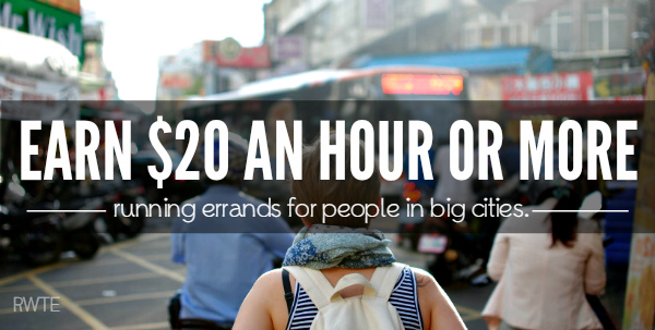 Earn Up To 20 An Hour Running Errands For People In Big