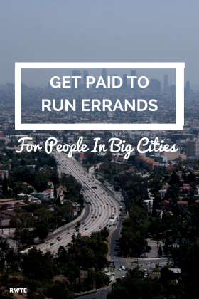 Do you live in a major city? Do you need to make some extra money? You could earn up to $20 an hour (possibly even more) doing odd jobs and running errands for people in your area.
