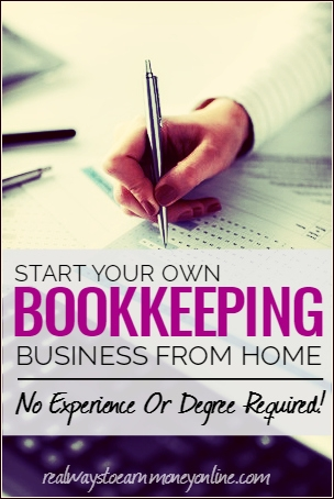 Start a bookkeeping home business no degree required did you know you can become a bookkeeper without a degree or even any experience malvernweather Image collections