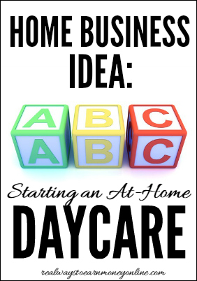 Home Business Idea Running A Daycare