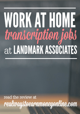 Landmark is a company that has been around since 1987, offering work at home transcription jobs. The rate of pay is considered fair. They pay transcribers twice per month with direct deposit.