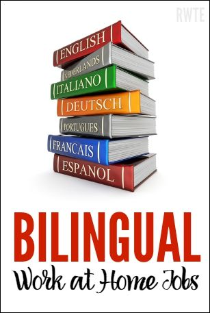 List of eight work at home companies that may be a good fit for people who are bilingual.