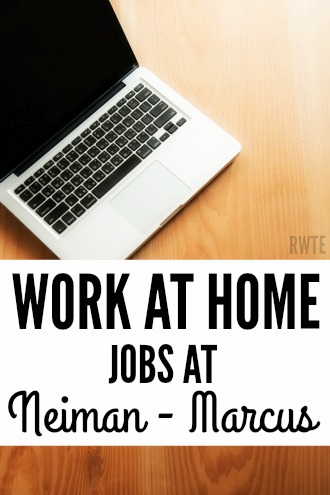 Did you know Neiman-Marcus hires people in the Dallas-Ft. Worth area of Texas to work from home, handling their customer service? The job pays between $11 and $16 hourly, plus the company offers benefits and a flexible schedule.