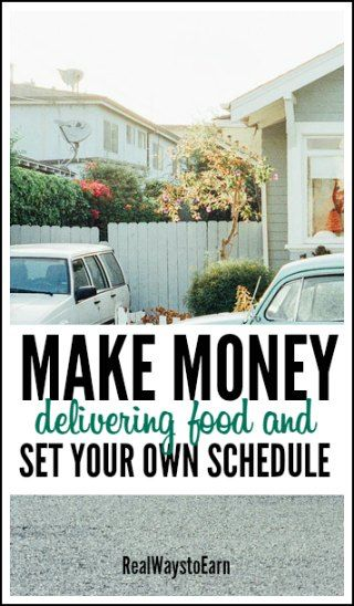Make money making food deliveries for Postmates and set your own schedule. Earnings of up to $25 hourly are supposed to be possible.
