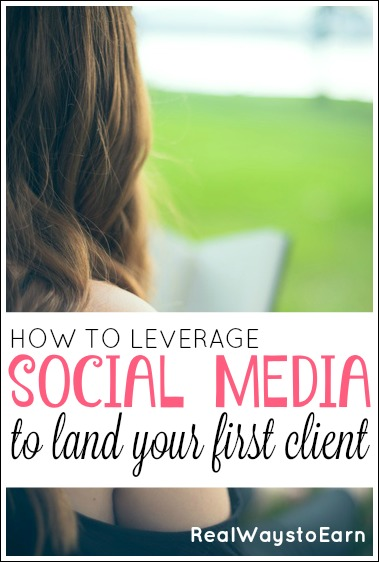 How to leverage social media to land your first client as a freelancer. Great tips in this article!