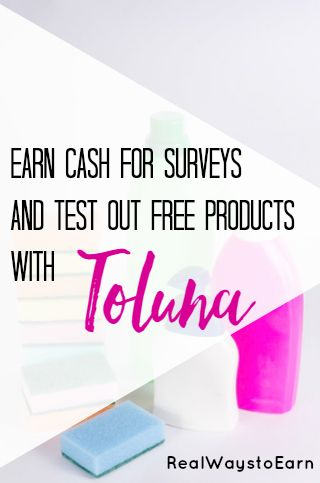 Did you know Toluna will send you free products to test and keep?